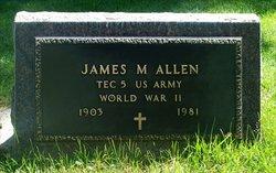 James Maurice Allen