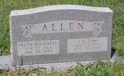 Oleta Mae <I>Rockwell</I> Allen