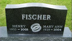 Mary Ann <I>Ammermann</I> Fischer