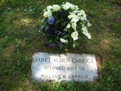 Janet <I>Alden</I> Carrick