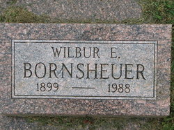 """Wilbur E """"Cotton"""" Bornsheuer"""