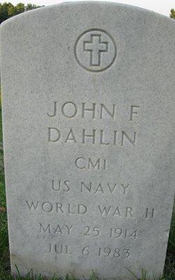 John F Dahlin