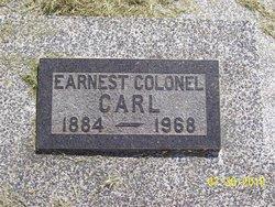 Earnest Colonel Carl