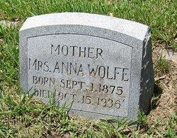Anna <I>Volce</I> Wolfe