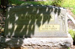 Ben Bridges Whorton, II