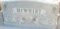 Franklin Albert McWhirt