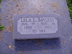 Lela Elizabeth Bayless