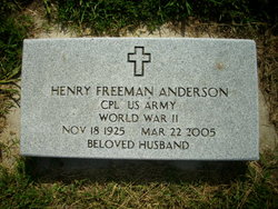 Henry F Anderson
