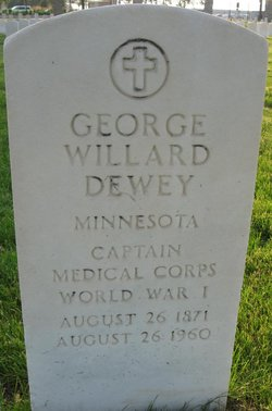 Dr George Willard Dewey