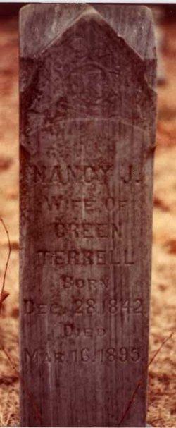 "Nancy Jane ""Nannie"" <I>Terrell</I> Terrell"
