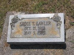 Sadie T. Lawler