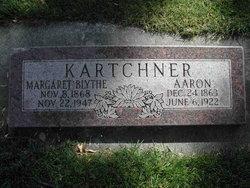Margaret <I>Blythe</I> Kartchner