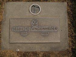 Bessie B. <I>Youngs</I> Langenheder