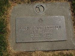 Fred J. Langenheder