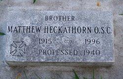 Br Matthew Heckathorn