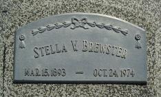 Stella V. <I>Martin</I> Brewster