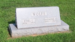 """Raymond Jesse Sidney """"RJ"""" Wolfe"""