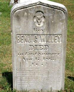 Rev Benjamin G Willey