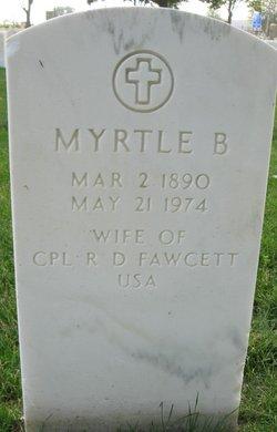 Myrtle B Fawcett