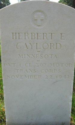 Herbert E Gaylord