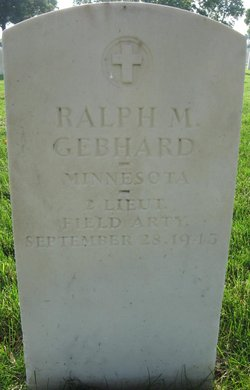 Ralph M Gebhard