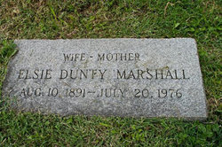 Elsie Mitchell Marshall