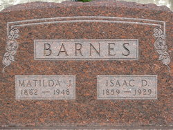 Matilda Jane <I>Taylor</I> Barnes