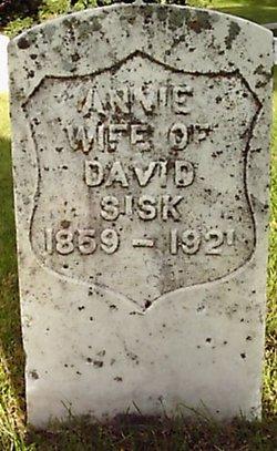 Annie B. <I>Parmalee</I> Sisk