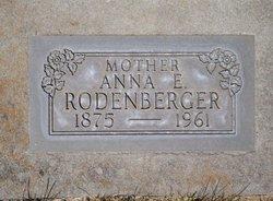 Anna E. <I>Schwartz</I> Rodenberger