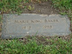 Marie Elsie <I>King</I> Baker