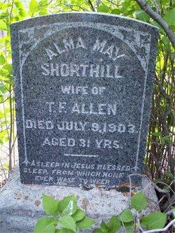 Alma May <I>Shorthill</I> Allen