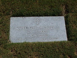 Oliver Paul Cundiff, Jr
