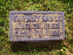 """Matie Eva """"May"""" <I>Faulkner</I> Nance"""