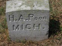 Pvt Harlan A Poor