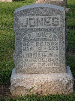 Louisa L. <I>Cutrell</I> Jones