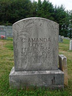 Celia Amanda <I>Hartley</I> Love