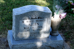 M Marie <I>Morris</I> Allen
