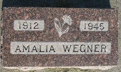 """Amalia F. """"Mollie"""" Wegner"""