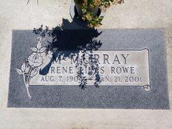 Irene Lilas <I>Rowe</I> McMurray