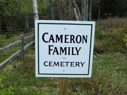Cameron Family Cemetery