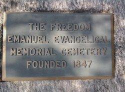 Freedom Emanuel Evangelical Memorial Cemetery