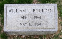 William James Boulden, Sr