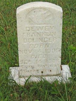 Dewey Franklin Dolinger