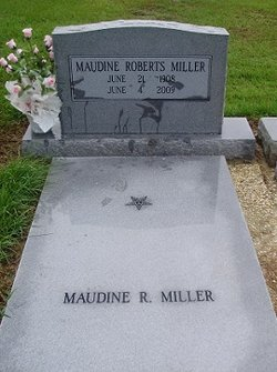 Maudine <I>Roberts</I> Miller