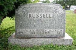Edith May <I>Dicken</I> Russell