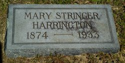 Mary <I>Stringer</I> Harrington