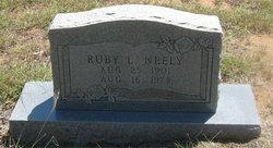 Ruby L Neely
