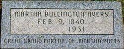 Martha <I>Bullington</I> Avery
