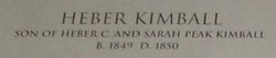 Heber Kimball