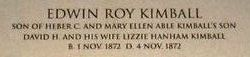 Edwin Roy Kimball